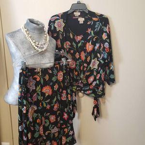 NWOT Skirt Jacket Top Blouse Plus Size PACKABLE